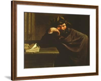 A Poet-Pier Francesco Mola-Framed Giclee Print