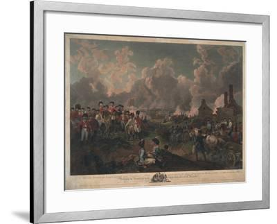 Grand Attack on Valenciennes-Philippe De Loutherbourg-Framed Giclee Print