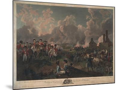Grand Attack on Valenciennes-Philippe De Loutherbourg-Mounted Giclee Print