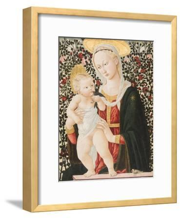 Madonna of the Roses, C.1485-90-Pseudo Pier Francesco Fiorentino-Framed Giclee Print