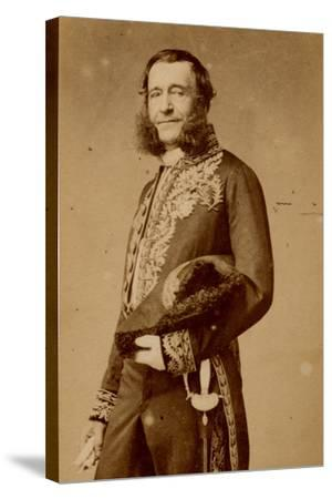 Pierre Adolphe Piorry-Pierre Petit-Stretched Canvas Print