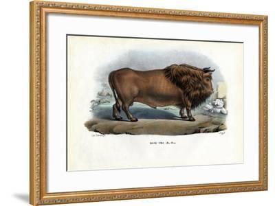 Aurochs, 1863-79-Raimundo Petraroja-Framed Giclee Print