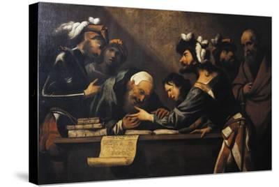 The Fortune Teller-Pietro Della Vecchia-Stretched Canvas Print