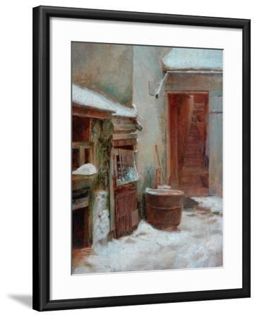 The Porch-Pierre Edouard Frere-Framed Giclee Print