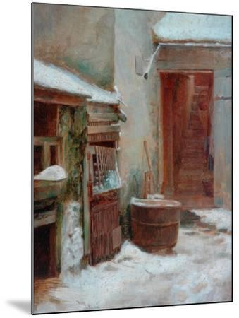 The Porch-Pierre Edouard Frere-Mounted Giclee Print