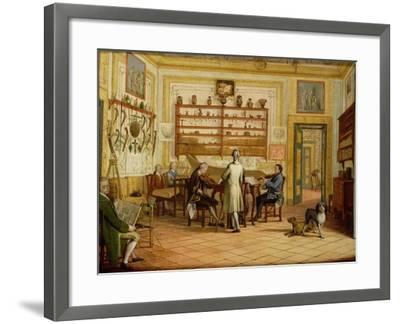 Concert Party at the Neopolitan Residence of Kenneth Mackenzie (1744-81) 1st Earl of Seaforth-Pietro Fabris-Framed Giclee Print