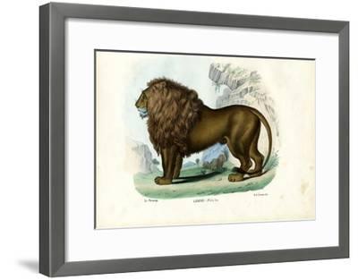 Lion, 1863-79-Raimundo Petraroja-Framed Giclee Print