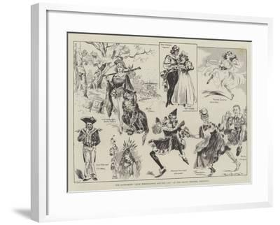 The Pantomime Dick Whittington and His Cat, at the Grand Theatre, Islington-Ralph Cleaver-Framed Giclee Print