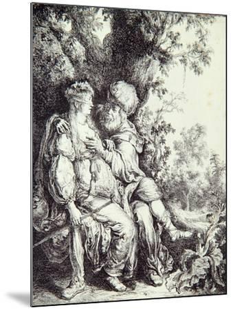 Judah and Tamar-Pieter Lastman-Mounted Giclee Print