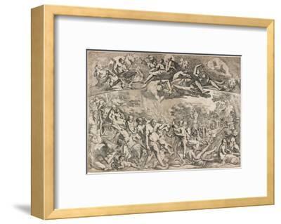 Allegory of Autumn, C. 1642-1644-Pietro Testa-Framed Giclee Print