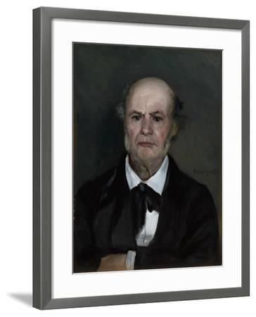Léonard Renoir, the Artist's Father, 1869-Pierre-Auguste Renoir-Framed Giclee Print
