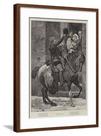 Christmas Loot-Richard Caton Woodville II-Framed Giclee Print