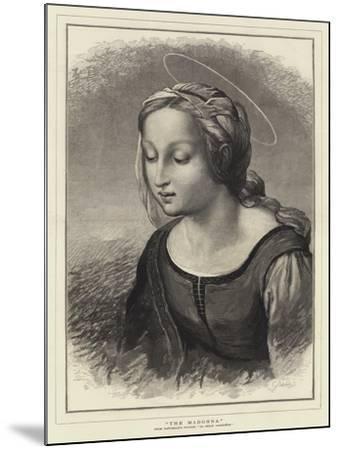The Madonna-Raphael-Mounted Giclee Print
