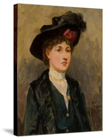 Elsie Wright, 1902-Ralph Hedley-Stretched Canvas Print