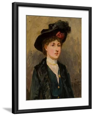 Elsie Wright, 1902-Ralph Hedley-Framed Giclee Print