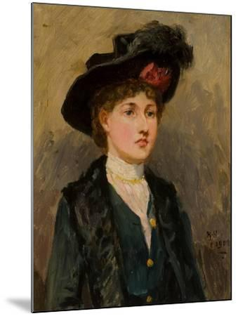Elsie Wright, 1902-Ralph Hedley-Mounted Giclee Print