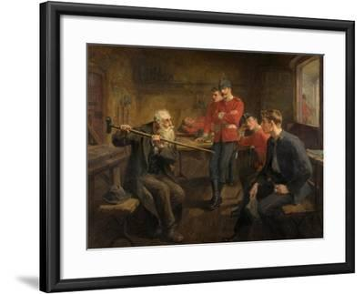 The Veteran, 1896-Ralph Hedley-Framed Giclee Print