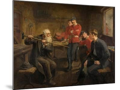 The Veteran, 1896-Ralph Hedley-Mounted Giclee Print