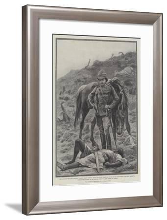 The Advance Towards Dongola-Richard Caton Woodville II-Framed Giclee Print