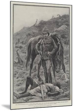 The Advance Towards Dongola-Richard Caton Woodville II-Mounted Giclee Print