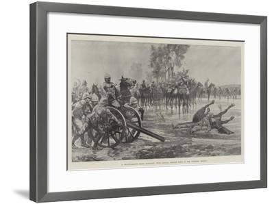 A Reconnaissance under Difficulty, with General French's Force in the Colesberg District-Richard Caton Woodville II-Framed Giclee Print