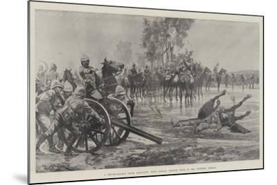 A Reconnaissance under Difficulty, with General French's Force in the Colesberg District-Richard Caton Woodville II-Mounted Giclee Print