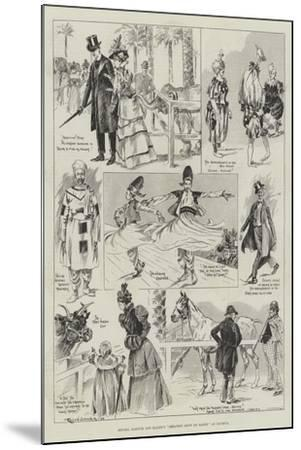 Messers Barnum and Bailey's Greatest Show on Earth at Olympia-Ralph Cleaver-Mounted Giclee Print