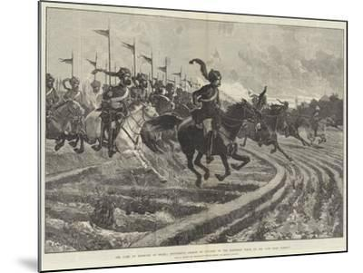 The Camp of Exercise at Delhi-Richard Caton Woodville II-Mounted Giclee Print