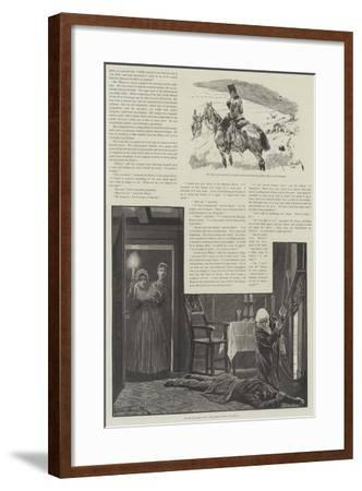 Cynic Fortune, a Tale of a Man with a Conscience, by David Christie Murray-Richard Caton Woodville II-Framed Giclee Print