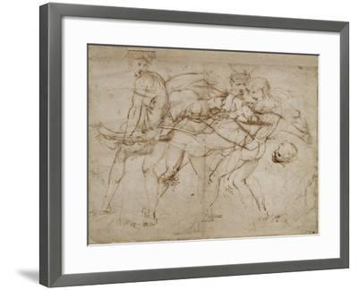 The Death of Adonis-Raphael-Framed Giclee Print