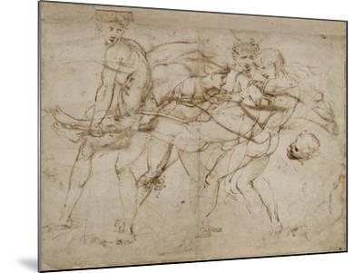 The Death of Adonis-Raphael-Mounted Giclee Print