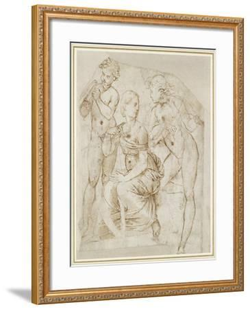 Group of Musicians-Raphael-Framed Giclee Print
