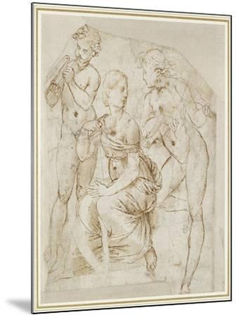 Group of Musicians-Raphael-Mounted Giclee Print