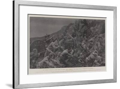 The Guerilla Warfare in South Africa-Richard Caton Woodville II-Framed Giclee Print