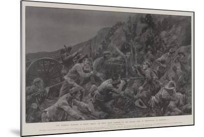 The Guerilla Warfare in South Africa-Richard Caton Woodville II-Mounted Giclee Print