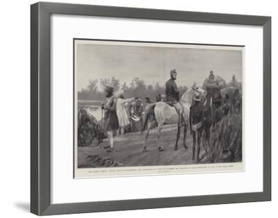 The Indian Famine-Richard Caton Woodville II-Framed Giclee Print