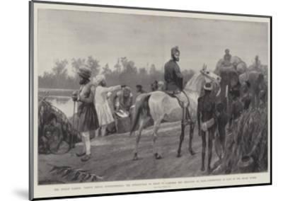 The Indian Famine-Richard Caton Woodville II-Mounted Giclee Print