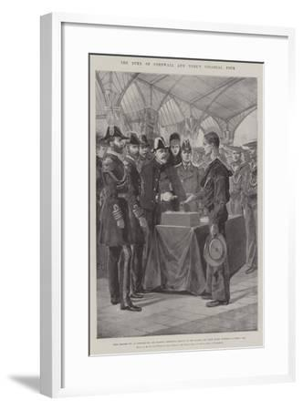 The Duke of Cornwall and York's Colonial Tour-Richard Caton Woodville II-Framed Giclee Print