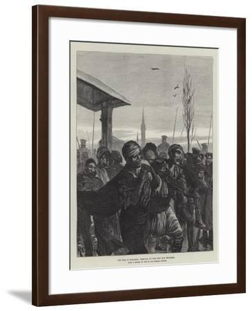 The War in Bulgaria, Removal of the Sick and Wounded-Richard Caton Woodville II-Framed Giclee Print