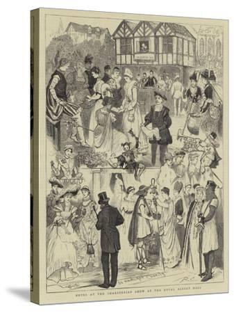 Notes at the Shaksperian Show at the Royal Albert Hall-Randolph Caldecott-Stretched Canvas Print