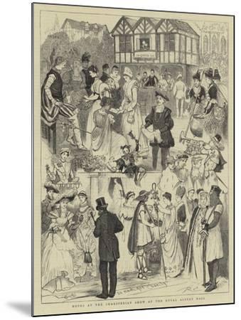 Notes at the Shaksperian Show at the Royal Albert Hall-Randolph Caldecott-Mounted Giclee Print