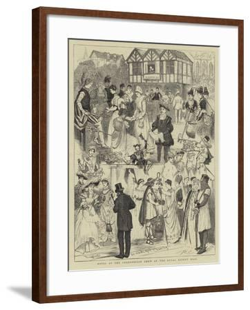 Notes at the Shaksperian Show at the Royal Albert Hall-Randolph Caldecott-Framed Giclee Print