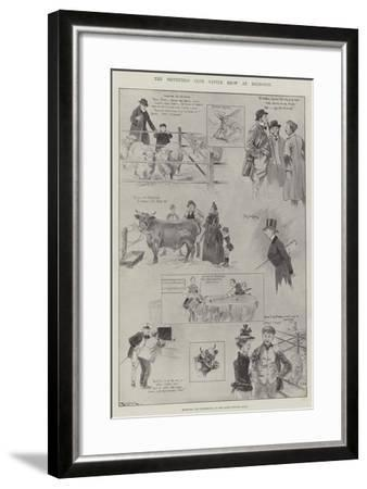 The Smithfield Club Cattle Show at Islington-Ralph Cleaver-Framed Giclee Print