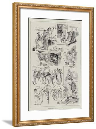 Preparing for the Pantomime at Drury Lane-Ralph Cleaver-Framed Giclee Print