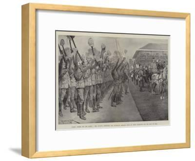 Three Cheers for the Queen!-Richard Caton Woodville II-Framed Giclee Print