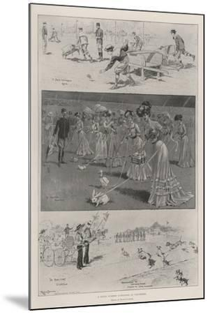 A Novel Summer Gymkhana at Vincennes-Ralph Cleaver-Mounted Giclee Print