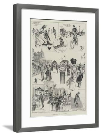 Easter Holiday Sketches at Brighton-Ralph Cleaver-Framed Giclee Print