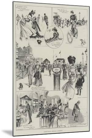 Easter Holiday Sketches at Brighton-Ralph Cleaver-Mounted Giclee Print