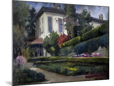 Villa Gola in Calco, 1931-Riccardo Brambilla-Mounted Giclee Print