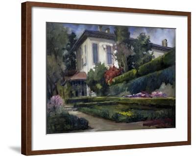 Villa Gola in Calco, 1931-Riccardo Brambilla-Framed Giclee Print